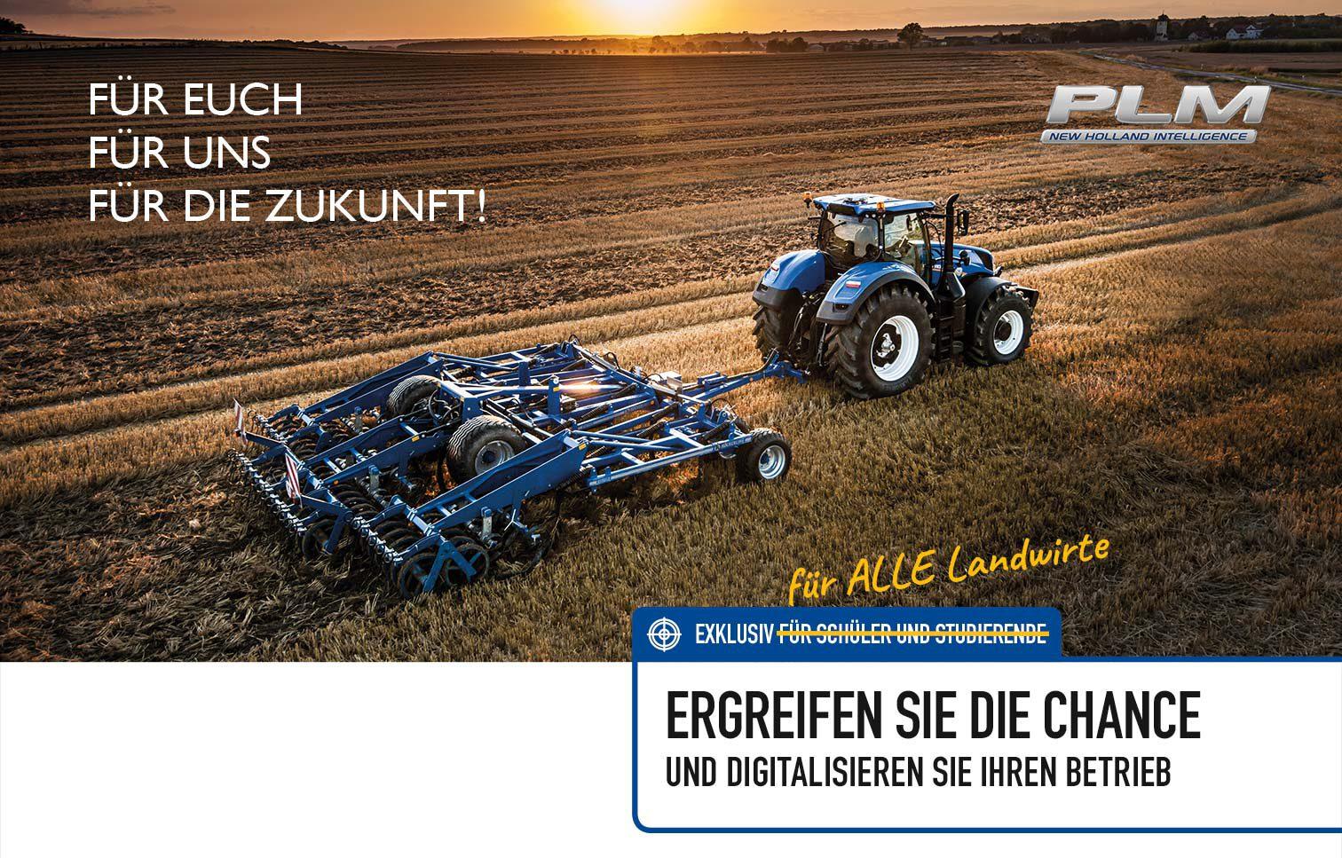 New Holland digitalisiert die Landwirtschaft mit Lenksystemen